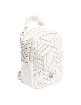 Mochila Adidas BP Mini 3D Blanco