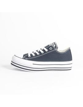 Zapatilla Converse All Star Platform Layer Black