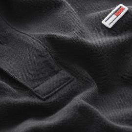 Polo Tommy Jeans Negro Hombre