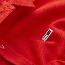 Polo Tommy Jeans Rojo Classics Hombre