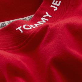 Camiseta Tommy Jeans Branded Rojo Hombre