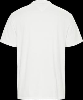 Camiseta Tommy Jeans Bold Blanca Hombre
