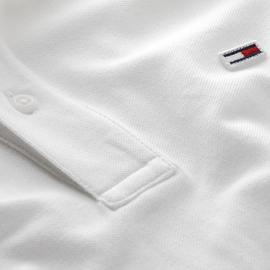 Polo Tommy Jeans Classics Blanco Hombre
