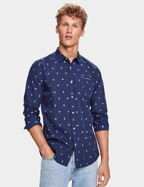 REGULAR FIT - Chic pochet shirt