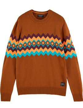 Seasonal monsanto crewneck pull