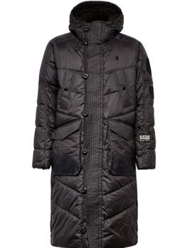 Utility quilted hdd extra long parka