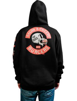 Sudadera The Dudes Bacon Cheese Burgers