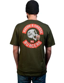 Camiseta The Dudes Bacon Cheese Burgers