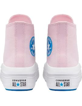 Zapatillas Converse Move Hi Pink