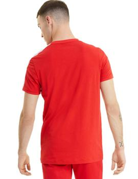 Iconic T7 Tee High Risk Red