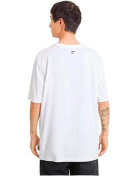 Downtown Graphic Tee Puma White