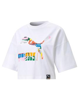 PI Graphic Tee Puma White-multi