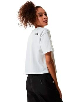 W CROPPED FINE TEE TNF WHITE